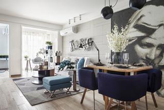 现代风格两居装修设计效果图