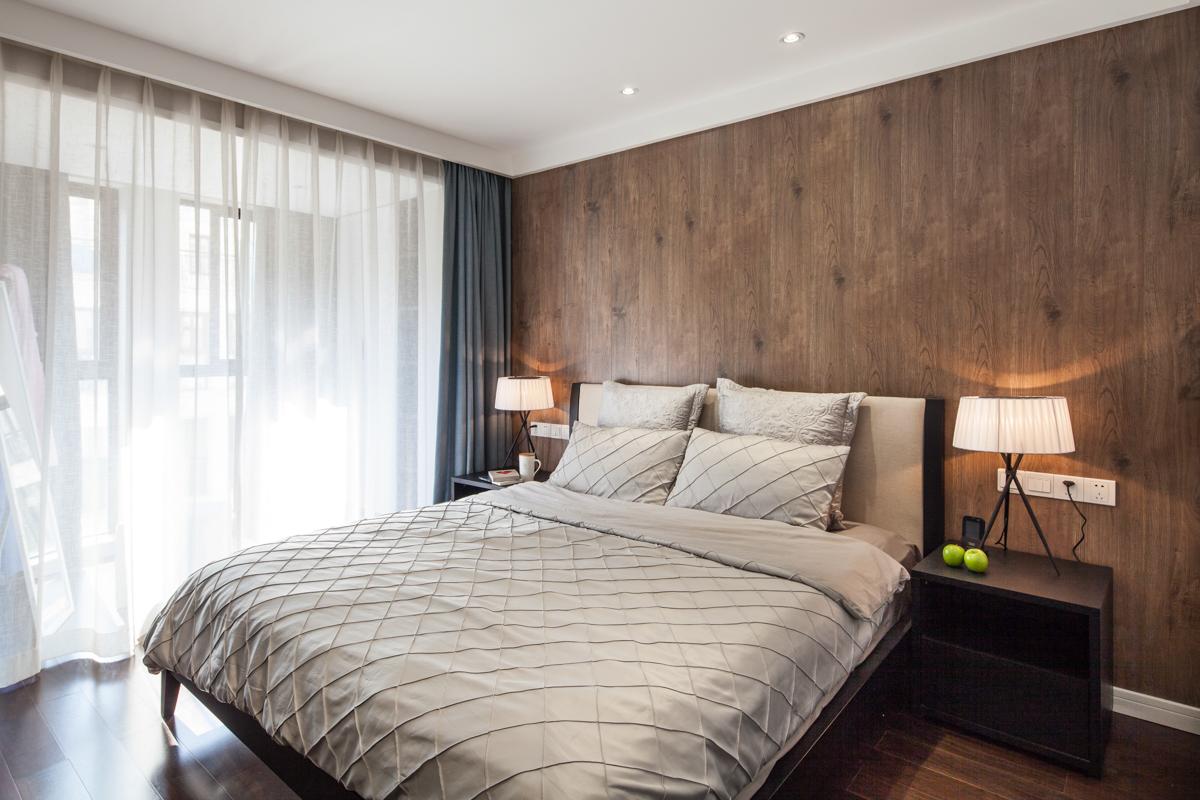 90平现代简约风格卧室装修效果图