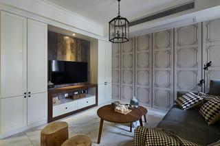 125㎡北欧风格三居装修设计图