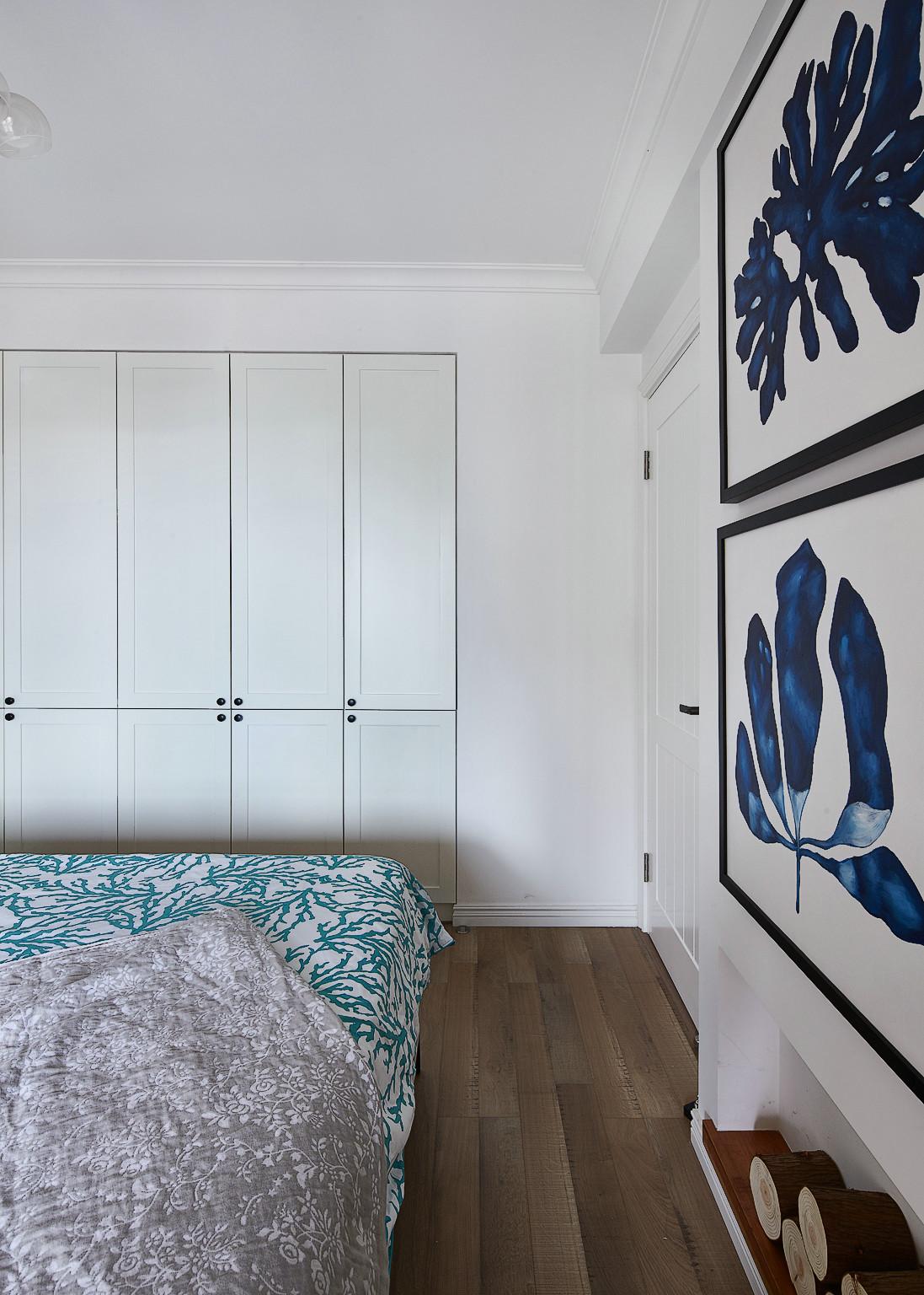 125㎡北欧风格三居装修壁柜效果图