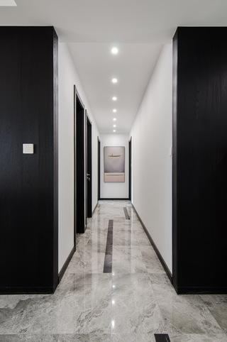 现代简约大户型走廊装修效果图