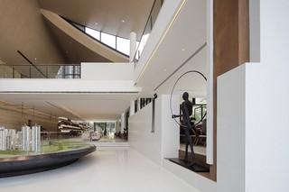 现代风格售楼部装修效果图