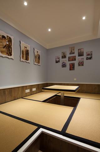 美式混搭三居室榻榻米装修效果图