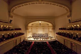 纽约卡耐基音乐厅设计图