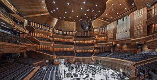 木制音乐厅设计效果图