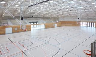 简约风篮球馆设计效果图