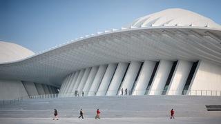 广西文化艺术中心设计效果图