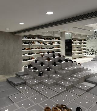 鞋店装修设计 创意十足
