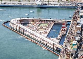 港口浴场设计效果图