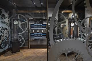 机械钟表精品店装修设计图