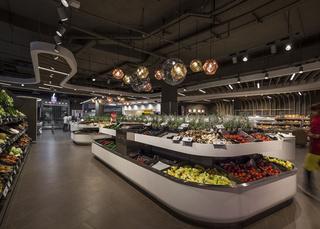 超市室内装修效果图