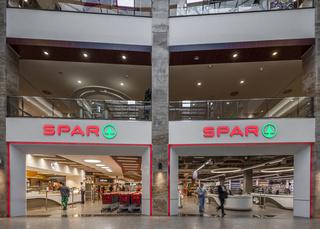 超市入口外观装修效果图