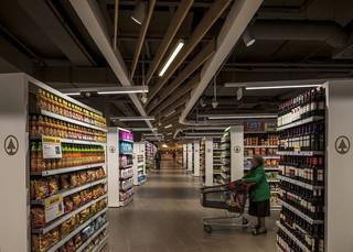 超市生活用品区装修效果图