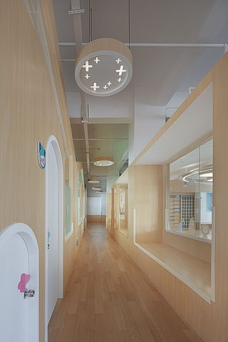 早教中心走廊装修设计