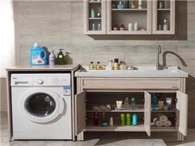 阳台洗衣柜尺寸多少合适 阳台洗衣柜如何选购