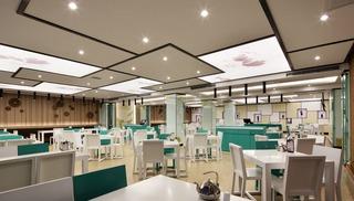 酒楼餐厅装修设计图