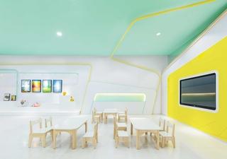 温馨儿童艺术教育机构设计图