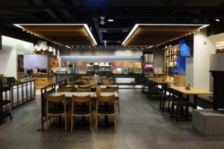 韩式自助餐厅装修设计图