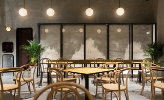 工业混搭风美食店装修设计图