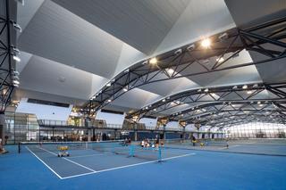 网球馆设计效果图