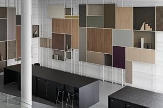 装饰面板建材店装修设计图
