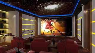星空主题私人影院装修效果图