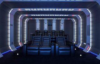 星球大战主题私人影院设计效果图