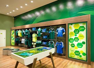 绿色调体育用品店每日首存送20