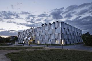 大学科研楼外观设计效果图