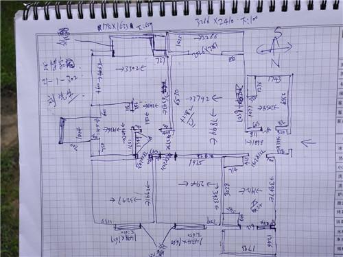 三室一厅电路布线图 100平水电改造多少钱