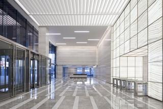 银行办公空间设计效果图