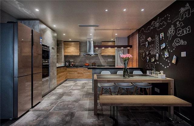 105平方三室一厅装修效果图 你值得拥有的工业风设计