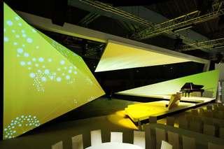 几何形状舞台设计效果图