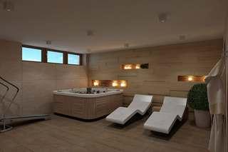 现代风格洗浴房装修效果图