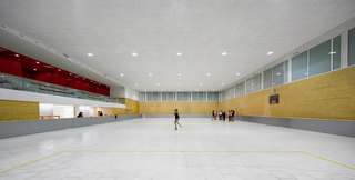 室内溜冰场装修效果图