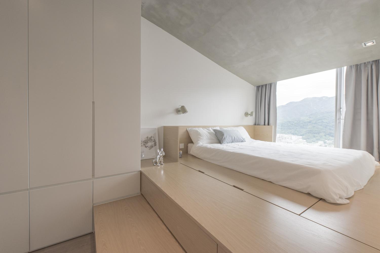 自然简约风卧室装修效果图