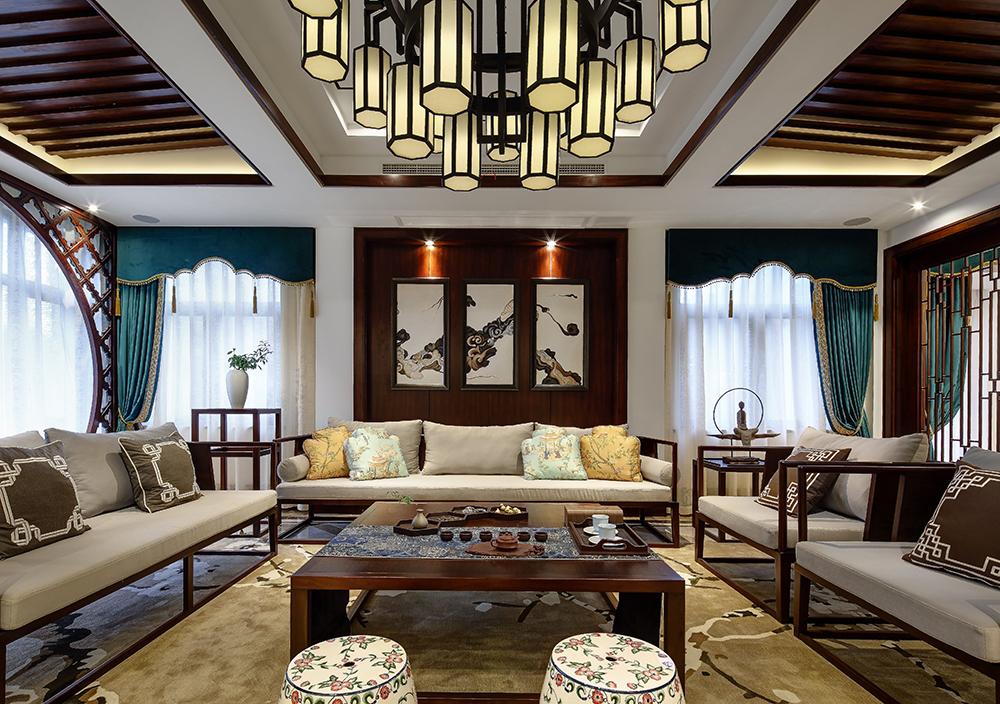中式风格别墅装修设计图