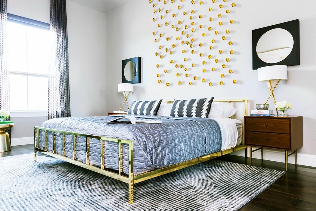 混搭风三居卧室装修设计图