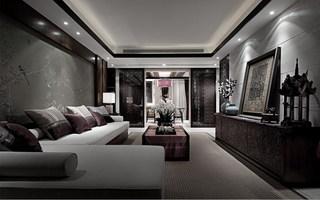 東南亞風格客廳裝修效果圖