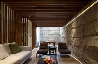 现代风格别墅地下室装修效果图