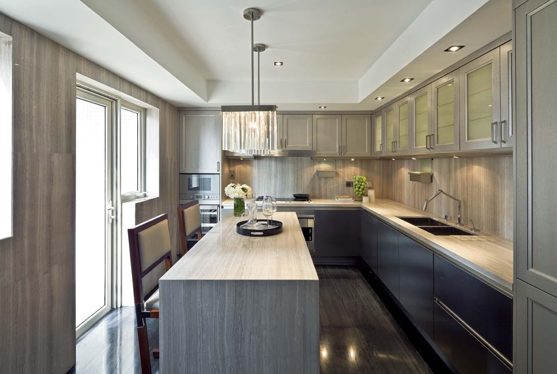 现代风格别墅厨房装修设计图