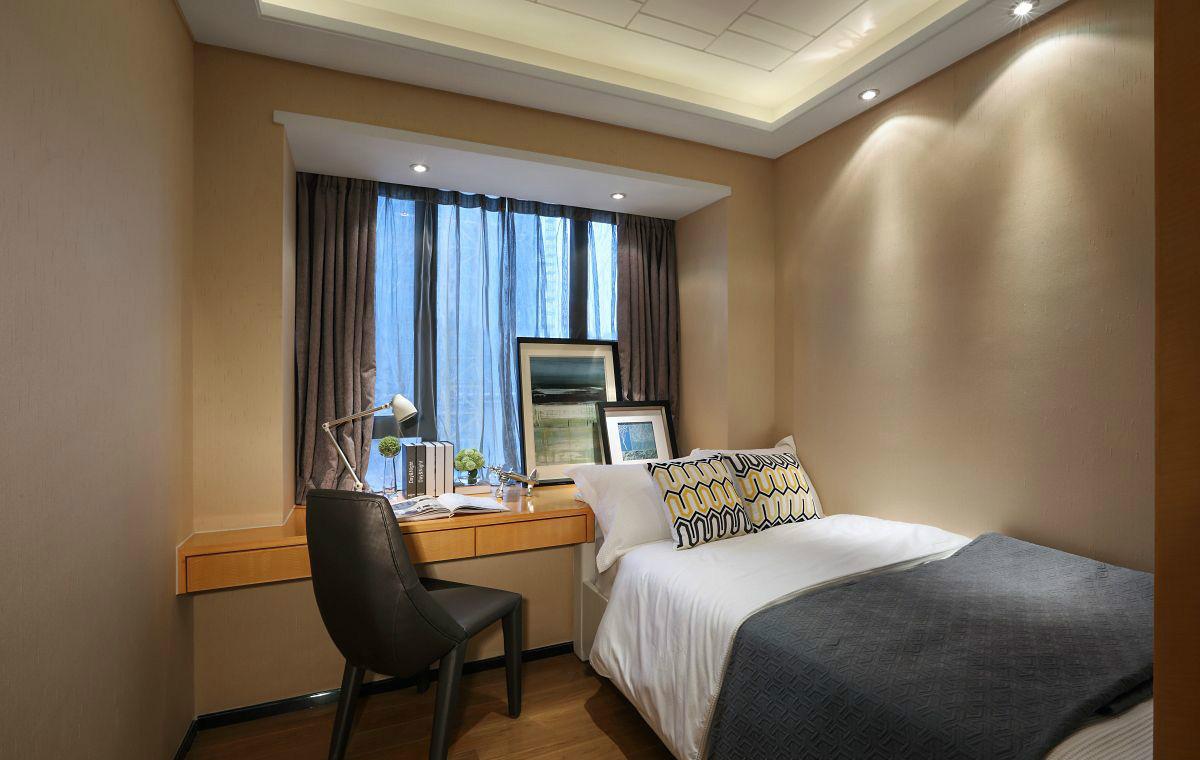 后现代风格三居卧室装修设计图