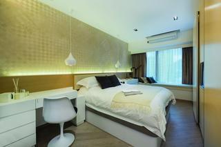 90㎡现代风格卧室装修效果图