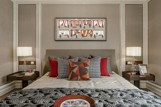 时尚现代别墅卧室装修设计图