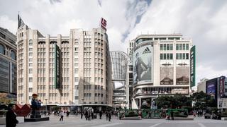 著名商业街设计效果图