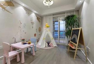 现代简约风格儿童房装修设计图