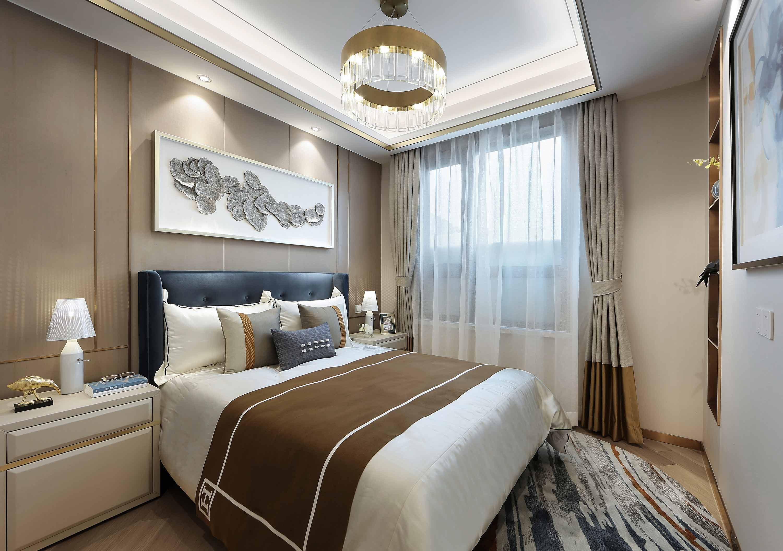 精致优雅三居卧室装修效果图