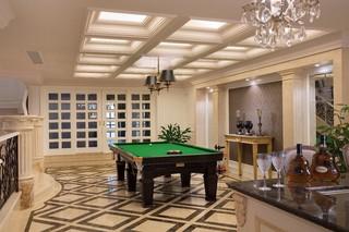 欧式风格别墅娱乐室装修设计效果图