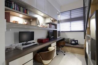 小户型北欧风书房装修设计图