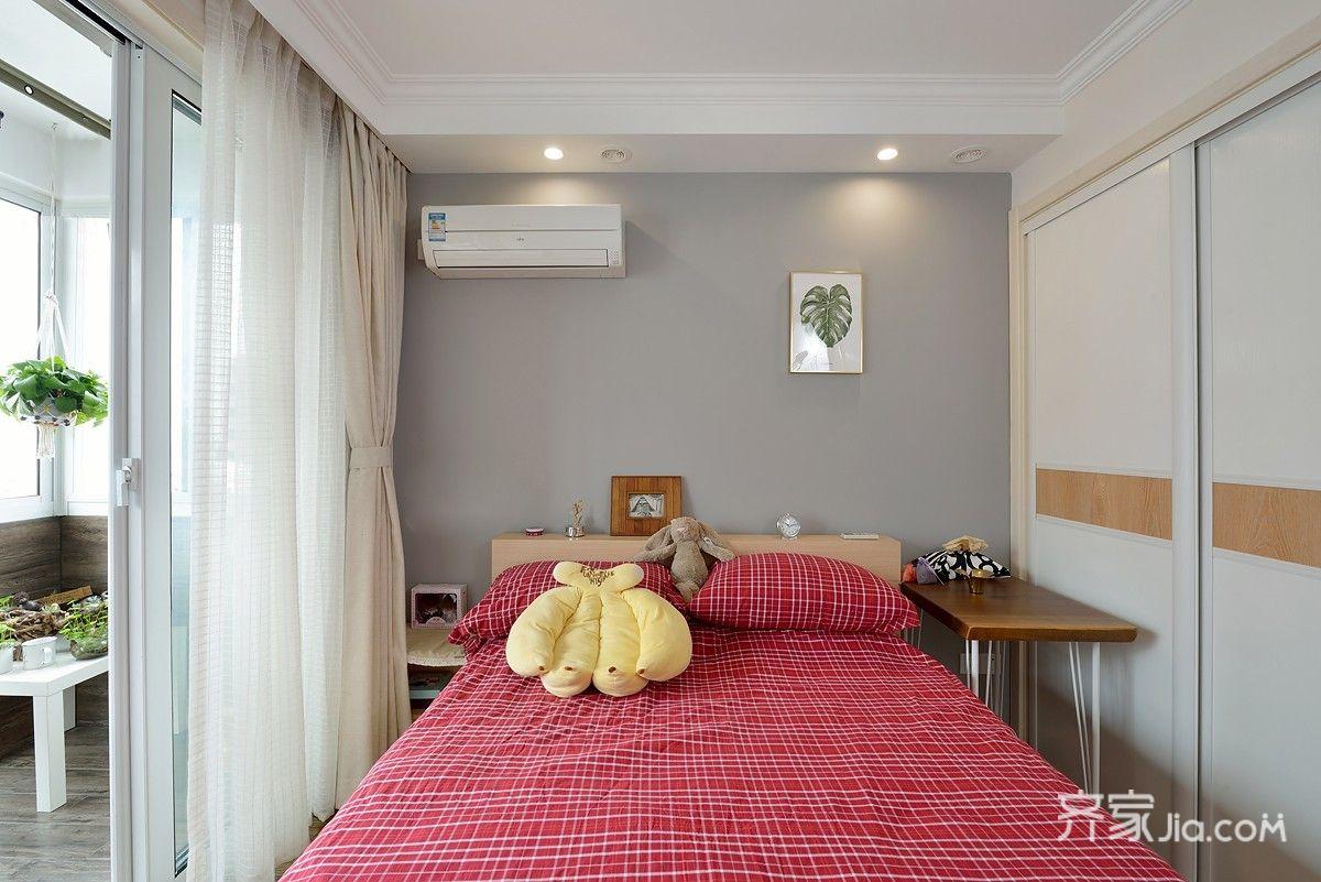 混搭风格两居卧室装修设计图